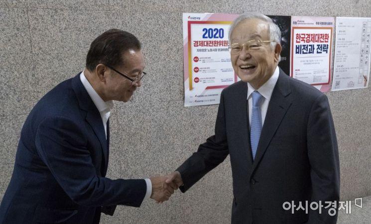 [포토] 국회 찾은 손경식 회장