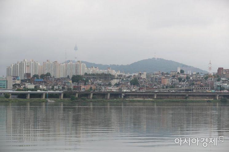 [포토]비구름에 갇힌 서울