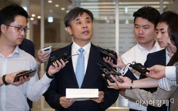 [포토] 김승호 실장, WTO 일반이사회 관련 담화문 발표