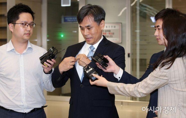 [포토] WTO 일반이사회 마치고 귀국한 김승호 실장