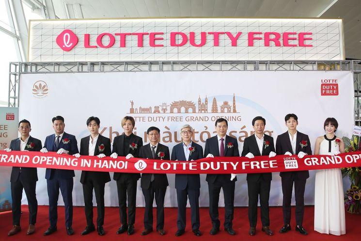롯데免, 노이바이 국제공항에 면세점 오픈…베트남서 3번째