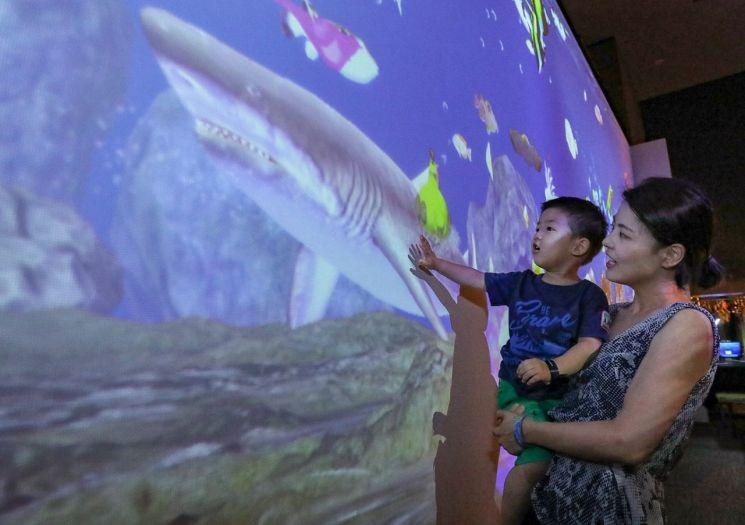 현대百, 어린이를 위한 '바다' 체험전 실시