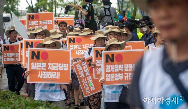 [포토]일본 경제 침략 규탄 행진