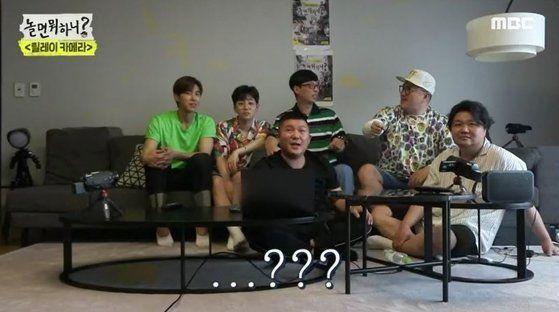 김태호 MBC PD의 복귀작 '놀면 뭐하니?'가 지난 27일 첫 방송됐다/사진=MBC '놀면 뭐하니?' 화면 캡처