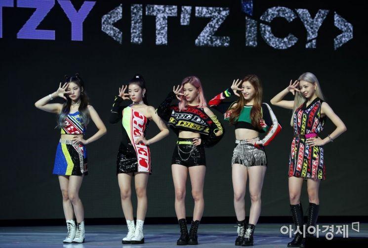 JYP 소속의 ITZY (사진=아시아경제DB)