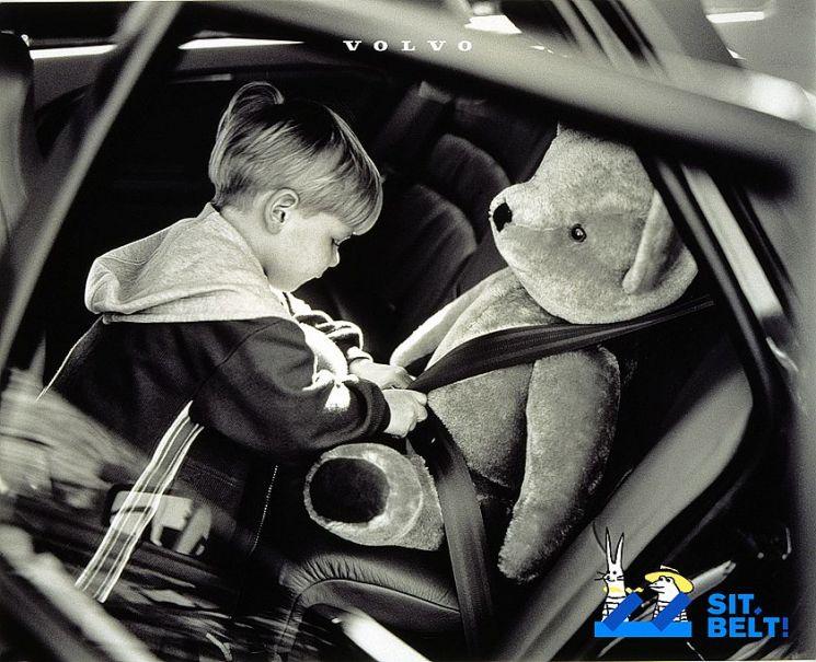 볼보 전좌석 안전벨트 착용 캠페인(사진=볼보자동차코리아)