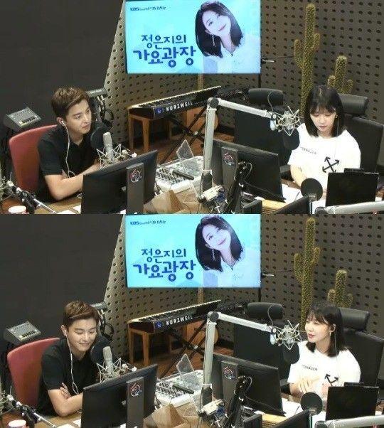 KBS2 드라마 '너의 노래를 들려줘'의 주연을 맡은 연우진이 1일 KBS 쿨FM '정은지의 가요광장'에 게스트로 출연했다/사진=KBS 쿨FM '정은지의 가요광장' 화면 캡처
