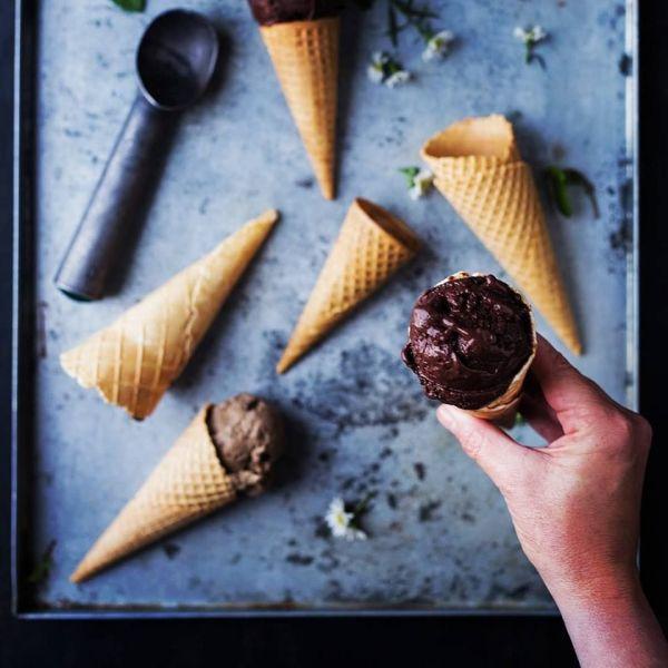 곤충을 이용해 만든 아이스크림./사진=고메 그럽 홈페이지 캡쳐