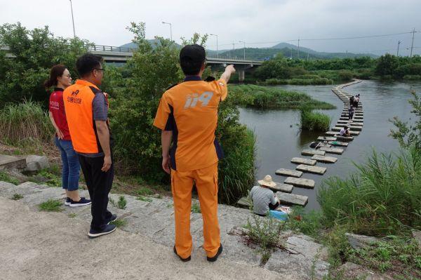 광주 광산소방서, 물놀이 안전사고 순찰 활동 강화