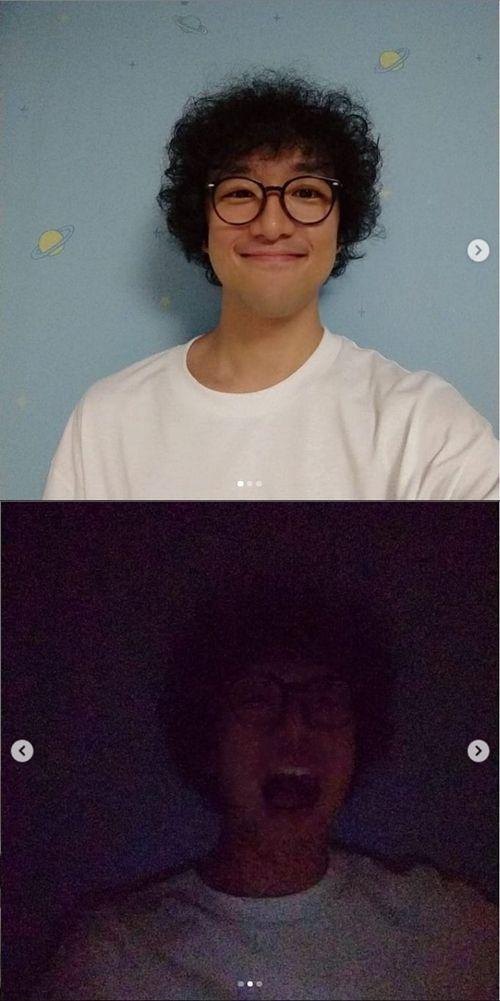 스윗소로우 전 멤버 성진환이 자신의 인스타그램에 근황을 공개했다./사진=성진환 인스타그램 캡쳐