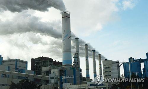 한 화력발전소 모습. 사진은 기사와 직접적인 연관 없음 [이미지출처=연합뉴스]