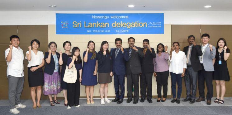 스리랑카 바티칼로아시 공무원들 노원구 방문한 까닭?