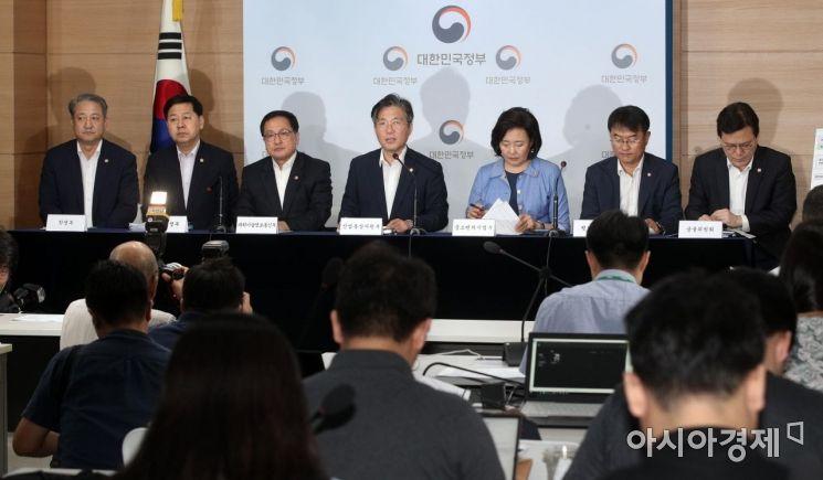 [포토] 성윤모 장관, 소재부품장비 경쟁력 강화대책 발