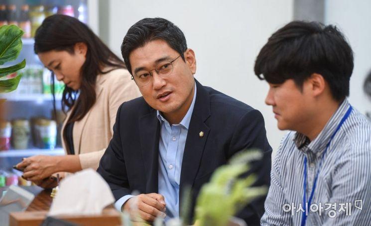 [포토]오신환 원내대표 기자간담회