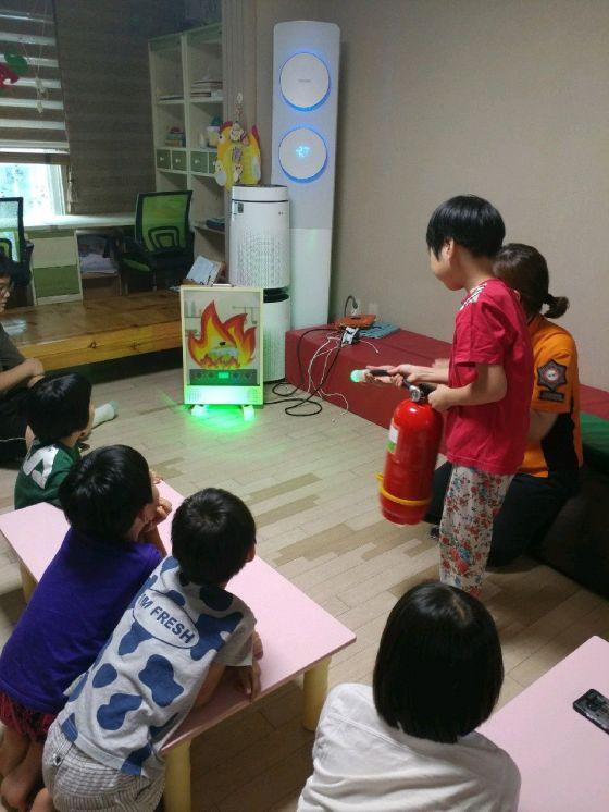 광주 동부소방서 '피난 우선' 소방안전교육 실시