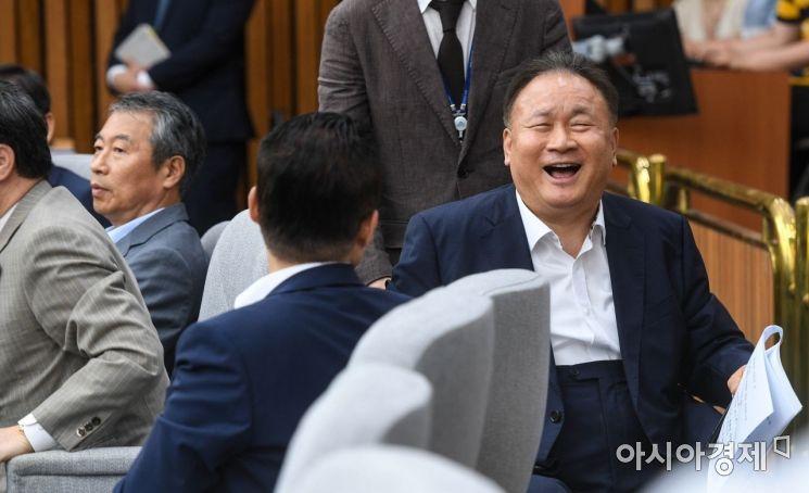 [포토]환하게 웃는 이상민 의원