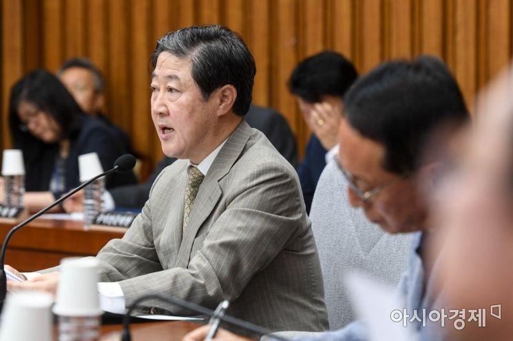 [포토]발언하는 유기준 국회 사개특위원장