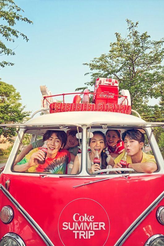 떠나고 싶은 여름, 코카콜라와 함께한 박보검의 짜릿한 일탈 포착