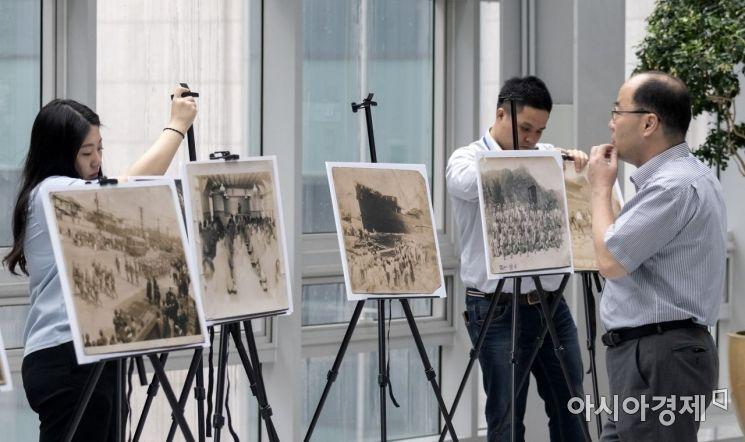 [포토] 위안부 문제 관련 사진 전시회