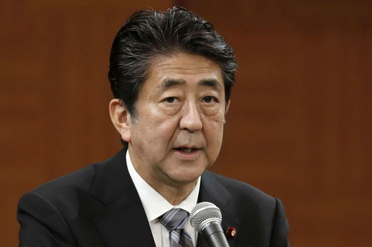 아베 신조 일본 총리.(자료사진) [이미지출처=AP연합뉴스]
