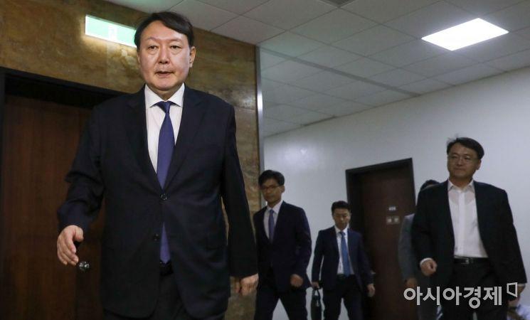 [포토] 국회 찾은 윤석열 검찰총장