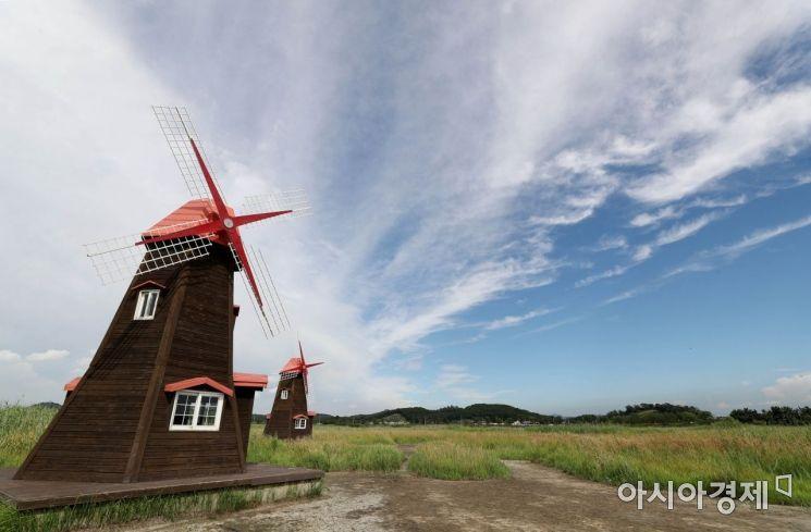 [포토]'비구름 안녕, 파란 하늘 안녕'