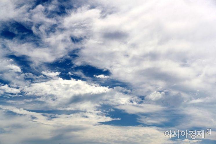 [포토]흰구름 먹구름