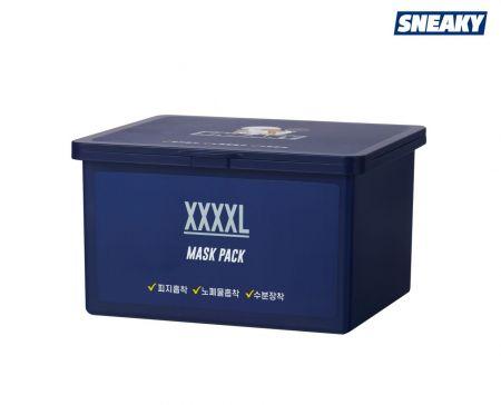 애경산업 스니키, '남성 피부 맞춤' 피지흡착 대용량 마스크팩 출시