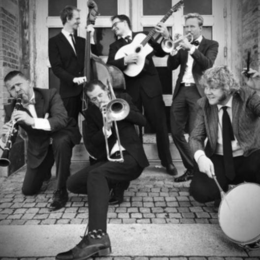 스웨덴의 6인조 밴드 '젠틀맨 앤 갱스터즈'. 사진=광주문화재단 제공