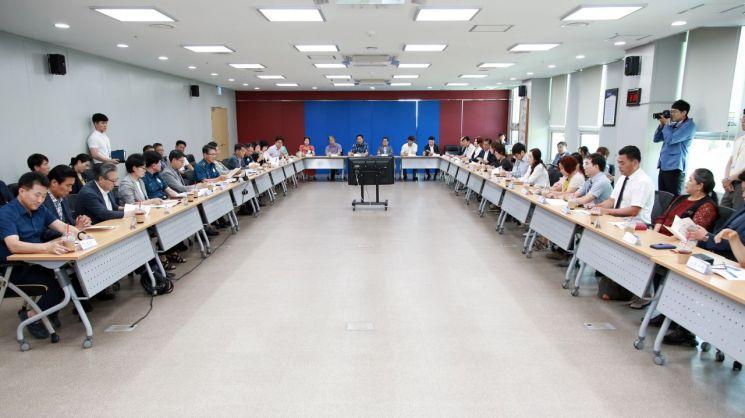 전남경찰, 지역 주민 대표 참여 '반부패 대토론회' 개최