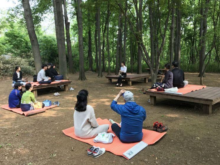 양천구, 산림치유 프로그램 '태교숲·실버숲' 운영