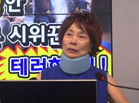 주옥순 엄마부대 대표/사진=유튜브 '엄마방송' 캡처
