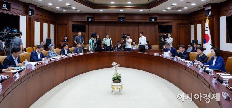 [포토]사회관계장관회의