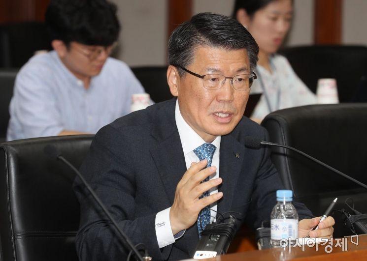 [포토]금융위원장 후보자에 은성수 수출입은행장