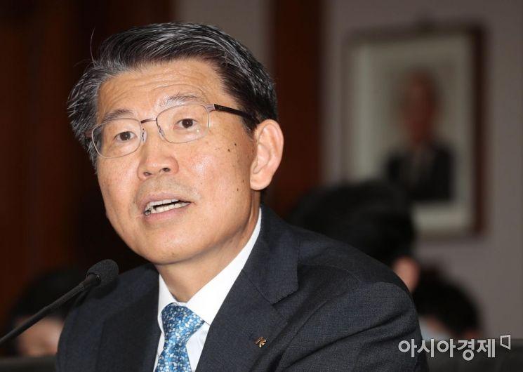 [포토]은성수 금융위원장 후보자 소감