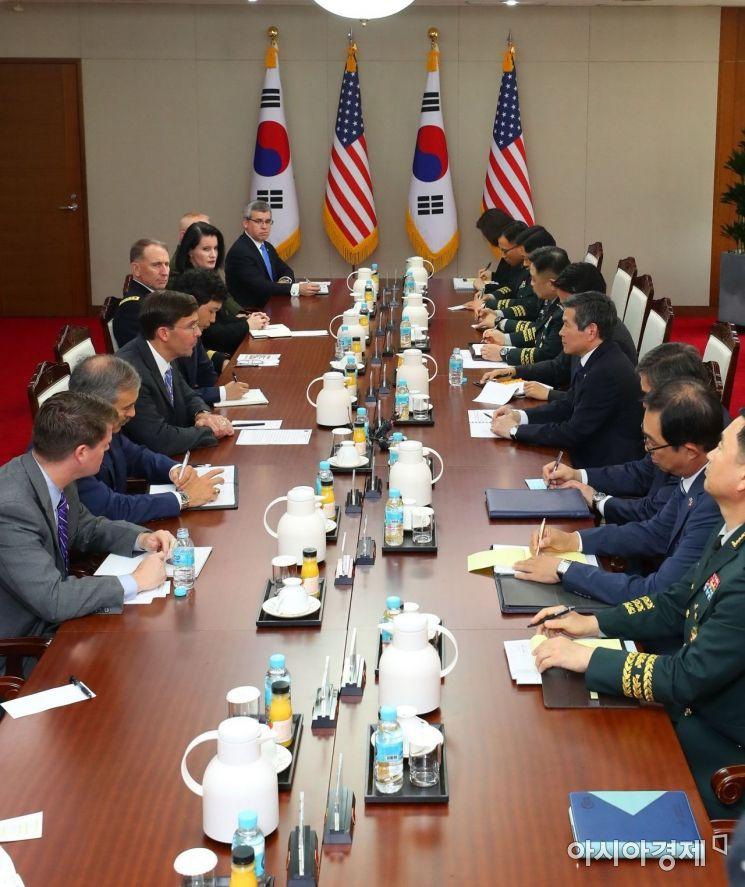 [포토]'한미 국방장관 회담'
