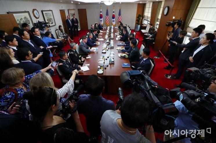[포토]한미 국방장관 회담 개최