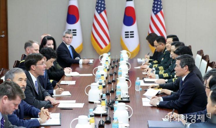 [포토]한미 국방장관 회담