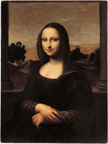 아일워스의 모나리자. 이 모나리자도 레오나르도 다빈치의 진품으로 확인됐습니다. [사진=위키피디아]