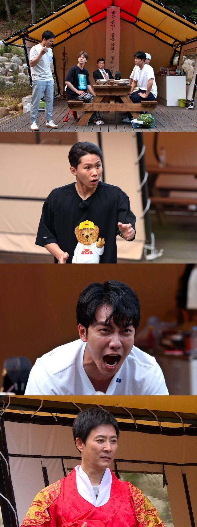 '집사부일체' 배우 최수종과 이덕화 / 사진=SBS