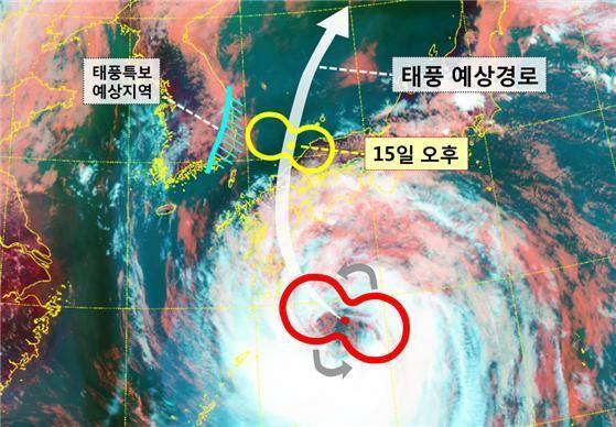 대형 태풍 '크로사' 일본 상륙 임박…46만명에 피난 권고
