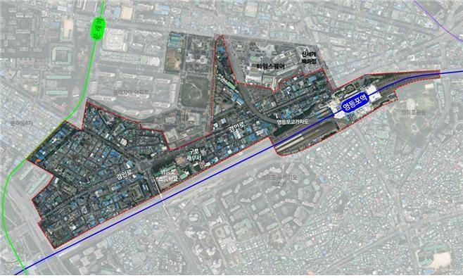 서울시, 쇠퇴한 영등포 51만㎡ '기술·예술 창업 신경제중심지'로 도시재생