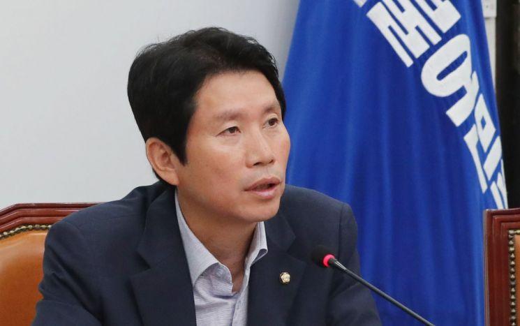 이인영 더불어민주당 원내대표. 사진=연합뉴스