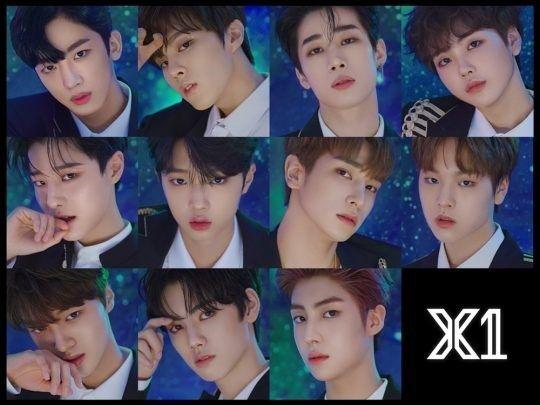 그룹 엑스원(X1)/사진=스윙엔터테인먼트