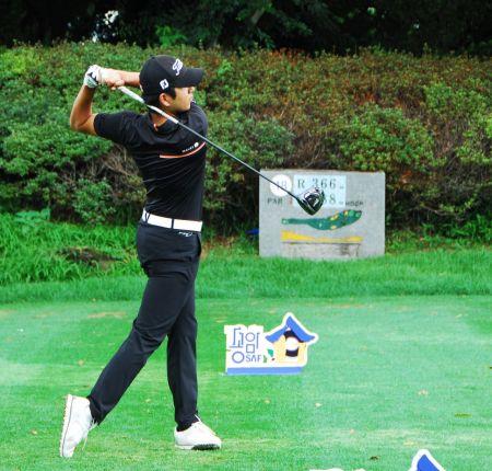 김동은이 송암배 아마추어골프선수권대회에서 2연패에 도전한다.