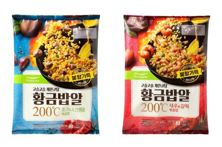 풀무원, 밥알에 불향 더한 '황금밥알 200℃ 볶음밥' 2종 출시