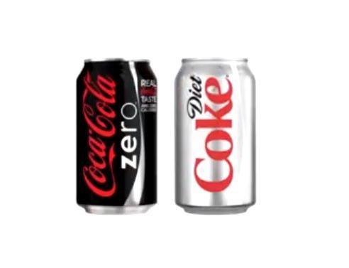 설탕 대신 인공감미료를 넣어 칼로리를 줄인 라이트 음료. [사진=유튜브 화면캡처]