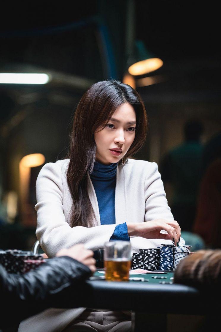 영화 '타짜3'에서 베드신 선보이는 최유화
