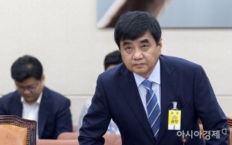 한상혁 방송통신위원장 후보자가 30일 국회에서 열린 인사청문회에 출석하고 있다./윤동주 기자 doso7
