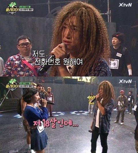 개그맨 장동민이 18세 출연자에게 전화번호를 요구한 사실이 전파를 타며 논란을 빚었다./사진=tvN '플레이어' 방송 캡쳐